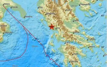 Νέος ισχυρός σεισμός κοντά στην Πάργα