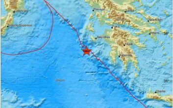 Σεισμός στο Ιόνιο