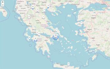 Ο κορονοϊός στην Ελλάδα σε... real time