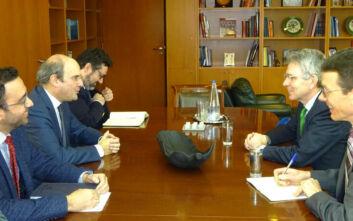 Συνάντηση Χατζηδάκη - Πάιατ: Στο τραπέζι ενεργειακά και τουρκικές προκλήσεις