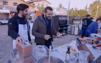 MasterChef 4: «Από μηχανής θεός» ο Λεωνίδας Κουτσόπουλος έσωσε τη δοκιμασία