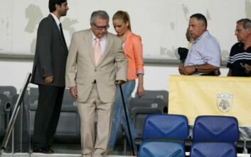 Πέθανε ο πρώην πρόεδρος της ΑΕΚ, Μιχάλης Τροχανάς