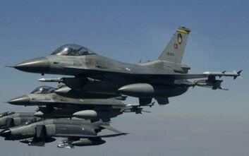 Νέα τουρκική πρόκληση στο Αιγαίο με πτήσεις δύο F-16 πάνω από τη Ρω