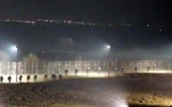 Βίντεο από τη νύχτα έντασης στα σύνορα στον Έβρο
