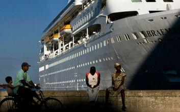 Έδεσε στην Κούβα το κρουαζιερόπλοιο με τα 5 κρούσματα κορονοϊού
