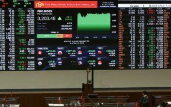 Οι Φιλιππίνες ανέστειλαν τη λειτουργία όλων των χρηματιστηριακών τους αγορών λόγω κορονοϊού