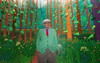 David Hockney: Θυμηθείτε ότι δεν μπορούν να ματαιώσουν την άνοιξη