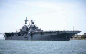 Ένας ναύτης του USS Boxer το πρώτο κρούσμα κορονοϊού στο αμερικανικό Πολεμικό Ναυτικό