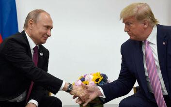 Τηλεφωνική επικοινωνία Τραμπ-Πούτιν για κορονοϊός και πετρέλαιο
