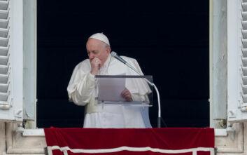 Ο Πάπας Φραγκίσκος υπεβλήθη σε τεστ για κορονoϊό