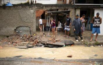 Κατακλυσμός στο Σάο Πάολο με τουλάχιστον 10 νεκρούς