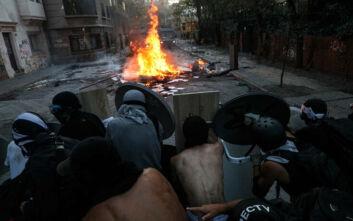 Νύχτα ταραχών στη Χιλή, πεδίο μάχης το Σαντιάγο