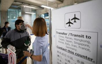 Κορονοϊός: Θετικοί δύο εργαζόμενοι στην υπηρεσία Μετανάστευσης στο αεροδρόμιο της Μπανγκόκ