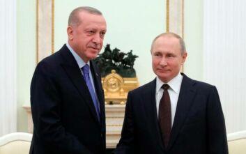 Πούτιν σε Ερντογάν: Οι Σύροι δεν γνώριζαν ότι πολεμούσαν εναντίον Τούρκων