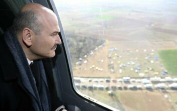 Υπουργός Εσωτερικών Τουρκίας: Μετά την πανδημία οι μετανάστες θα επιστρέψουν στα σύνορα με την Ελλάδα