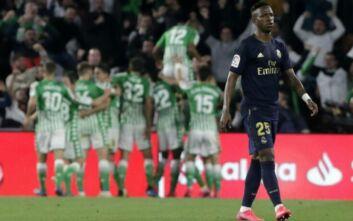 La Liga: Ήττα και 2η θέση για την Ρεάλ Μαδρίτης