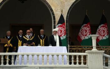 Αφγανιστάν: Ορκίστηκε για δεύτερη θητεία ο πρόεδρος Γάνι, ταυτόχρονη τελετή και για τον βασικό του αντίπαλο