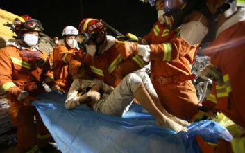 Κορονοϊός: Στους 18 οι νεκροί από την κατάρρευση ξενοδοχείου στην Κίνα