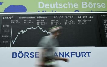 Κλείσιμο στα ευρωπαϊκά χρηματιστήρια με τη μεγαλύτερη πτώση εδώ και δεκαετίες