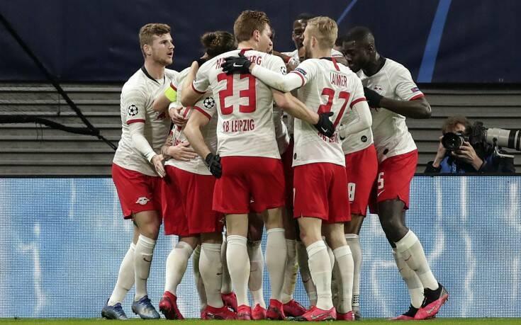 Champions League: Στους «8» η Λειψία, 3-0 την Τότεναμ