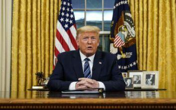 Απόψε το διάγγελμα Τραμπ για τον κορονοϊό: «Θα κηρύξει τις ΗΠΑ σε κατάσταση έκτακτης ανάγκης»