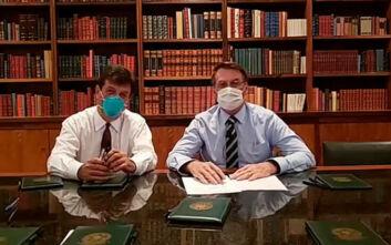 Κορονοϊός: Ο Βραζιλιάνος πρόεδρος Μπολσονάρου αρνητικός στον ιό