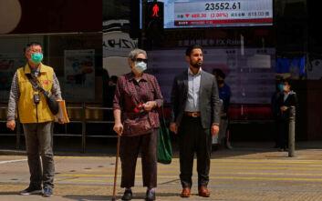 Αριθμός ρεκόρ στα ημερήσια κρούσματα κορονοϊού στο Χονγκ Κονγκ
