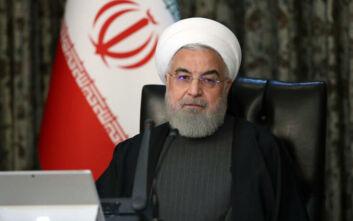 Μήνυμα ενότητας από τον πρόεδρο του Ιράν για την αντιμετώπιση του κορονοϊού