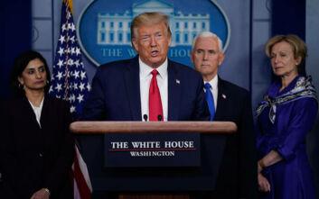 Τραμπ για κορονοϊό: Είμαι πρόεδρος εν καιρώ πολέμου
