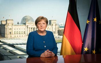 Γερμανία - Κορονοϊός: Η Μέρκελ ευχαριστεί τους πολίτες για την πειθαρχία τους