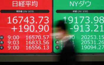 Διεθνείς αγορές: Θετικό κλίμα στα διεθνή χρηματιστήρια μετά τα πρωτοφανή μέτρα στήριξης των οικονομιών