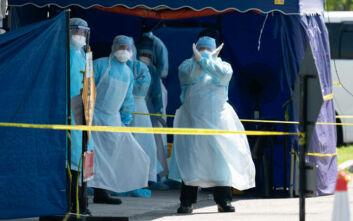 Κορονοϊός: Βρετανός ειδικός εκτιμά πως ένας ασθενής θα μπορούσε να μολύνει 59.000 ανθρώπους