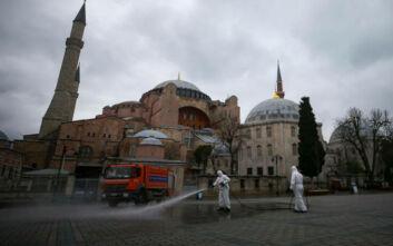 Κορονοϊός στην Τουρκία: Πάνω από 1.100 κρούσματα σε ένα 24ωρο - 75 νεκροί συνολικά
