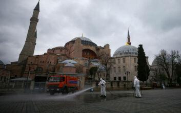 Ξεπέρασαν τις 350.000 τα κρούσματα στην Τουρκία, σχεδόν 9.500 οι θάνατοι