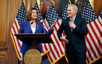 Η Βουλή των Αντιπροσώπων στις ΗΠΑ ενέκρινε πακέτο στήριξης της οικονομίας λόγω κορονοϊού