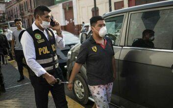 Κορονοϊός - Περού: Ποινική ασυλία σε στρατιωτικούς κι αστυνομικούς που επιβάλλουν την εφαρμογή των μέτρων περιορισμού