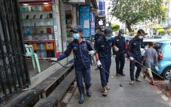 Πρώτος θάνατος από κορονοϊό στη Μιανμάρ