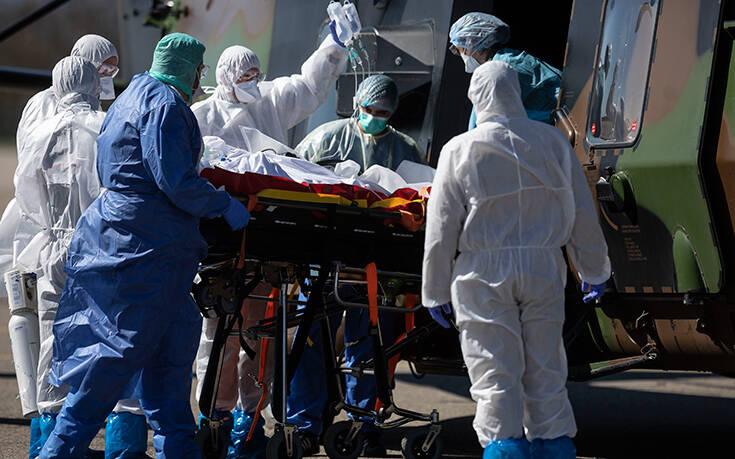 Σοκ στη Γαλλία: 1.417 νεκροί από τον κορονοϊό σε 24 ώρες