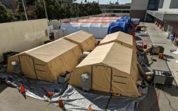 Κορονοϊός: Διπλασιάστηκαν σε 4 μέρες τα κρούσματα στην Καλιφόρνια - Γεμίζουν τα κρεβάτια στις ΜΕΘ