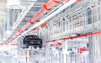 Audi Smart Plant: Ρομπότ που ακολουθούν τον προϊστάμενο τους και «έξυπνα» ράφια