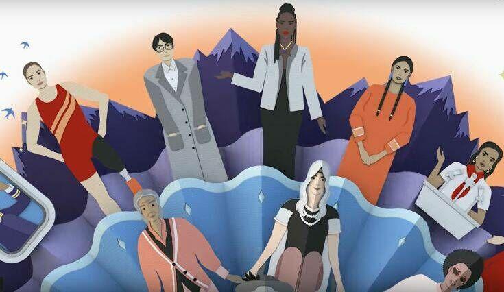 Αφιερωμένο στην Παγκόσμια Ημέρα της Γυναίκας το σημερινό doodle της Google