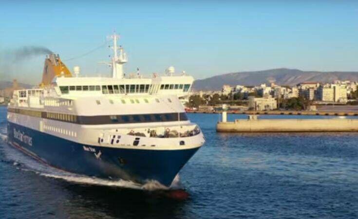 Τι λέει η πλοιοκτήτρια εταιρεία για το ύποπτο κρούσμα κορονοϊού στο «Blue Star Mύκονος»
