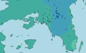 Καιρός: Οι βροχές στην Αθήνα και στην Κρήτη σε χάρτες