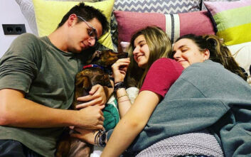 Η τρυφερή ανάρτηση του Κυριάκου Μητσοτάκη στο Instagram με τα τρία του παιδιά