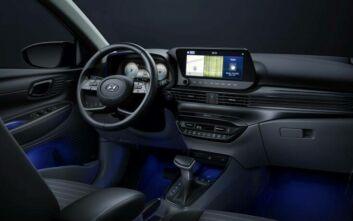 Το εντυπωσιακό εσωτερικό του νέου Hyundai i20