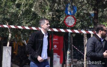 Οβίδα στο κέντρο της Αθήνας: Ο δήμαρχος Αθηναίων στο σημείο που έχει αποκλειστεί