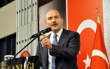 Προκαλεί ο υπουργός Εσωτερικών της Τουρκίας με το προσφυγικό: «Δεν έχετε δει ακόμα τίποτα...»