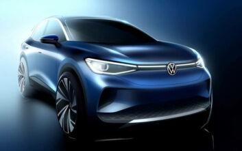 Αμιγώς ηλεκτρικά Volkswagen Concept ID.4 και παραγωγής ID.3