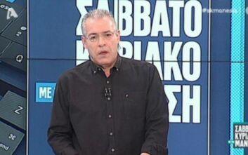 Η «συγγνώμη» του Νίκου Μάνεση για τα λάθος πλάνα στην προηγούμενη εκπομπή