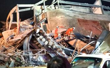 Τουλάχιστον 4 νεκροί από την κατάρρευση του ξενοδοχείου στην Κίνα